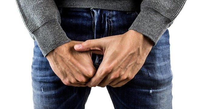 a péniszen egy véna jelenik meg