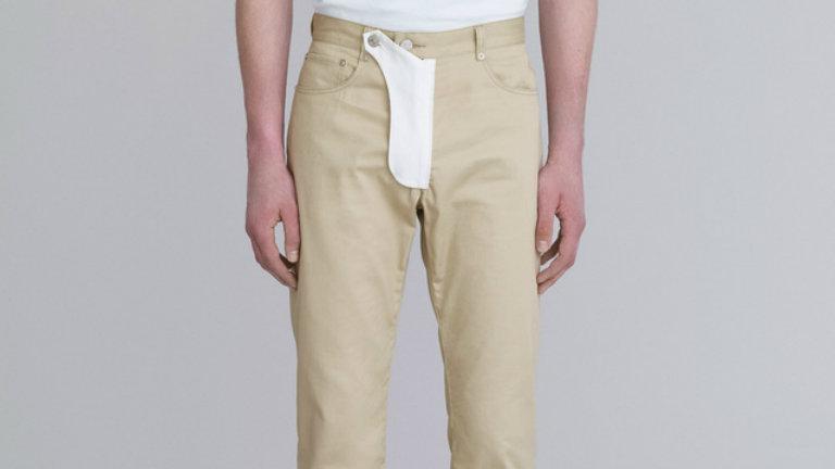 Bizarr divat: íme a péniszzsebbel felszerelt nadrág – fotó