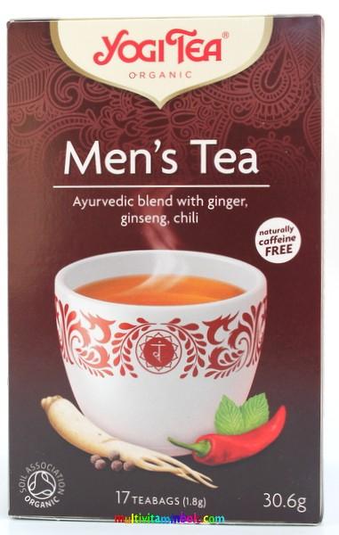 Potencianövelő tea, ampullák és porok férfiaknak