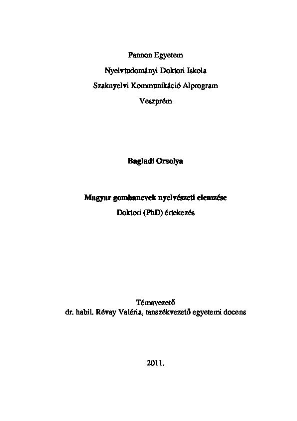 pénisz leírási típusok