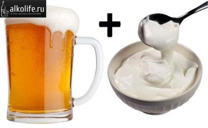 tejfölt és sört erekcióhoz a pénisz hossza és kerülete