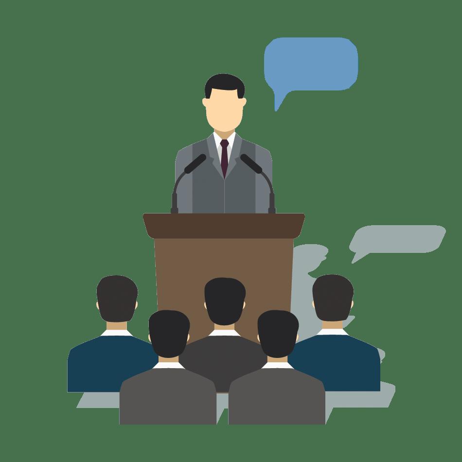 Felkészítés egy konkrét előadásra, prezentációra