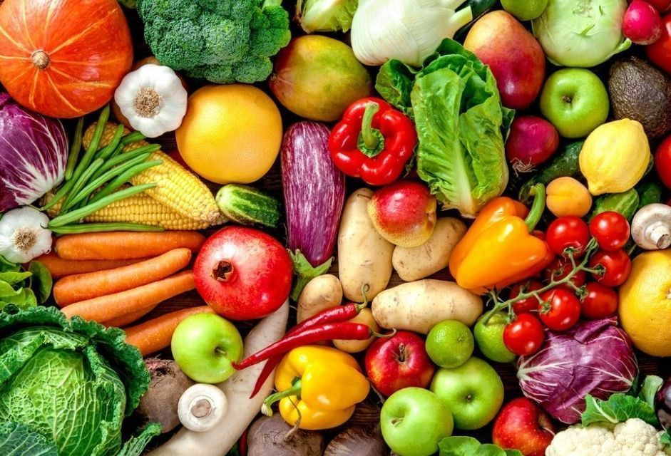 gyümölcsök és zöldségek a jó erekció érdekében